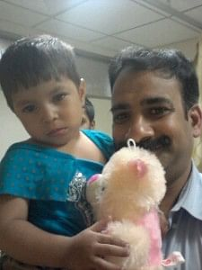 Prati had a complete recovery, thanks to the efforts of the big-hearted paediatrician, Dr. JK Reddy