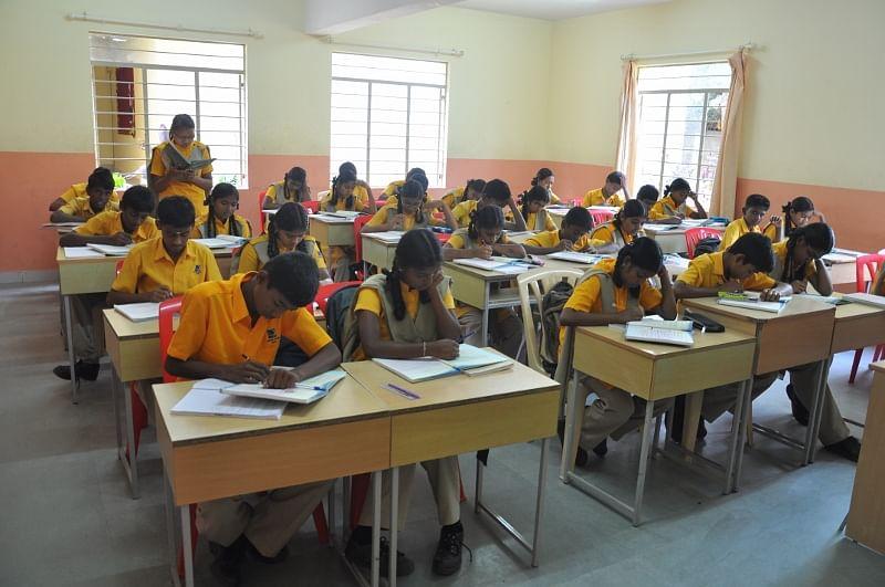 A Christel House Classroom