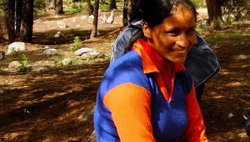 Mamta at the Nehru Institute of Mountaineering
