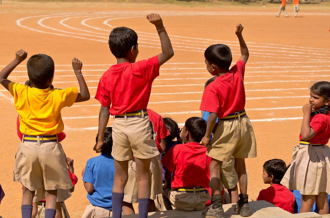 Christel House children enjoying sports time