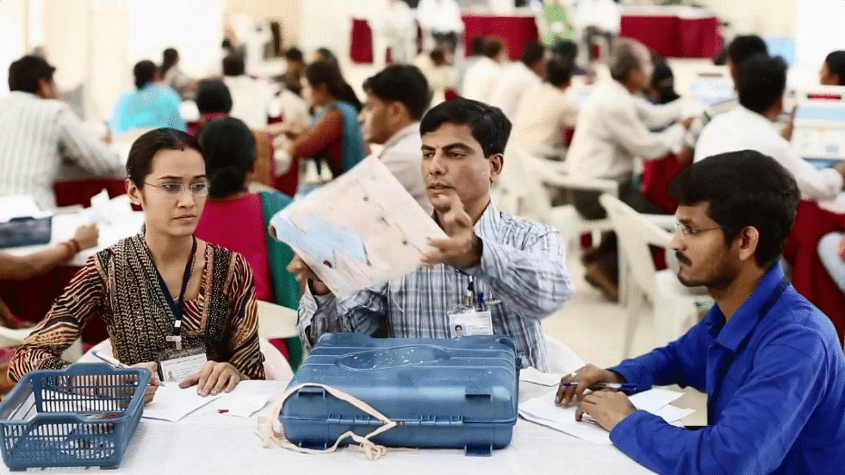 This Is How 551 Million Votes Were Counted On India's Election Results Day