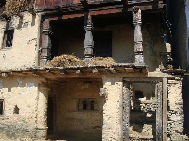 Mamta's damaged house- view from outside
