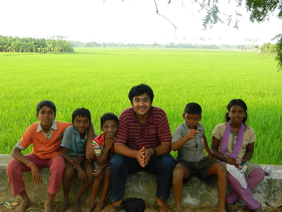 Story Of A Storyteller: How Vikram Sridhar Found A Way To Revive The Old Art Of Story Telling