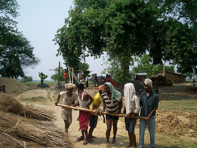 Ballia villagers, clean water