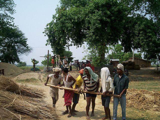 Ballia villagers, clean water