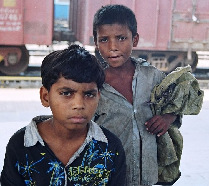 Life on the railway platforms makes these kids get into all kinds of vices
