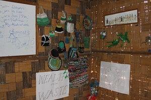Inside the NGO Ngunu Ziro's Office