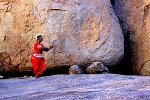 Nayantara, Odissi routine