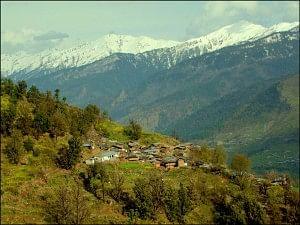 Kalap, a tranquil Himalayan village