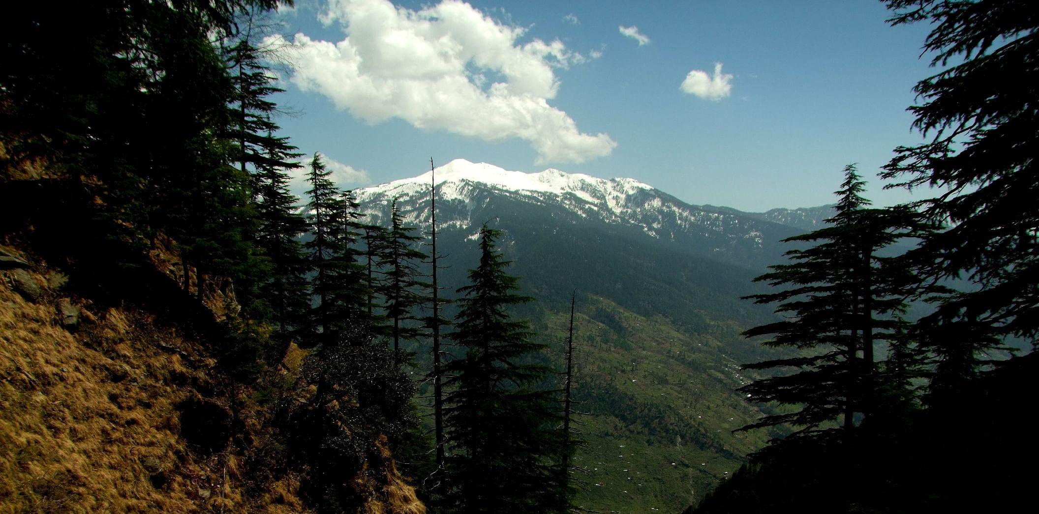 Himalayan Views from Kalap