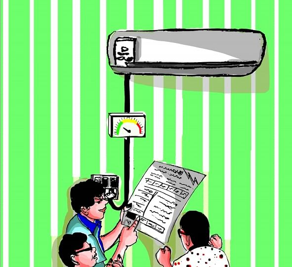 Reduction of AC energy wastage