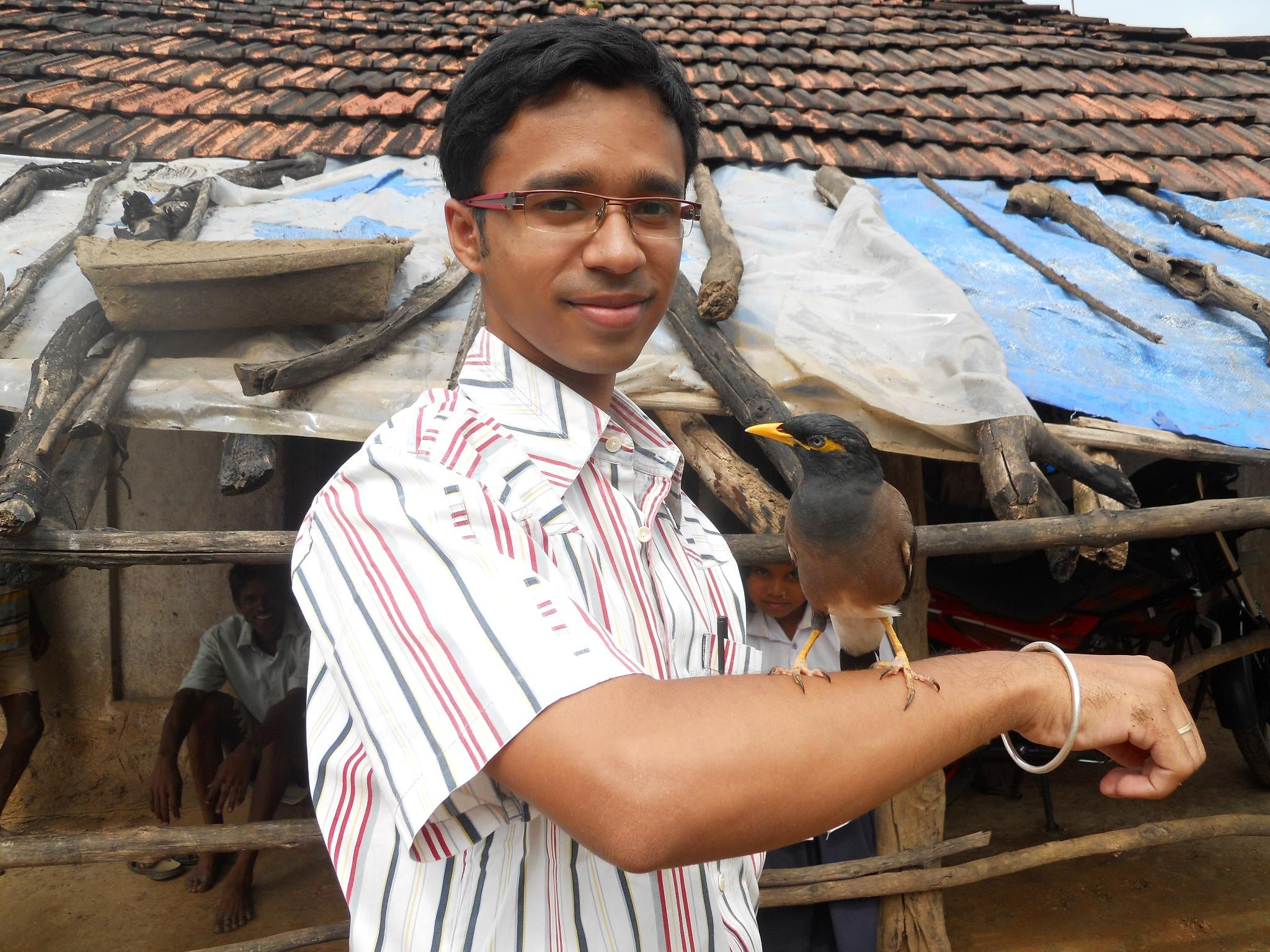 Life in the village has taught Sourabh many of life's invaluable lessons