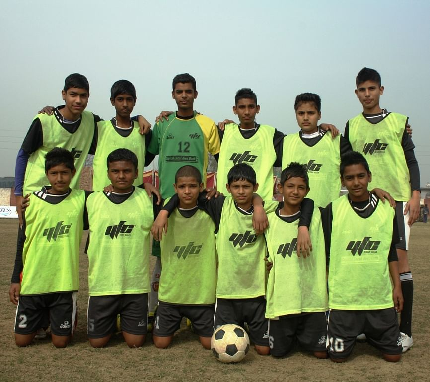 The YFC Under 14 Football Team