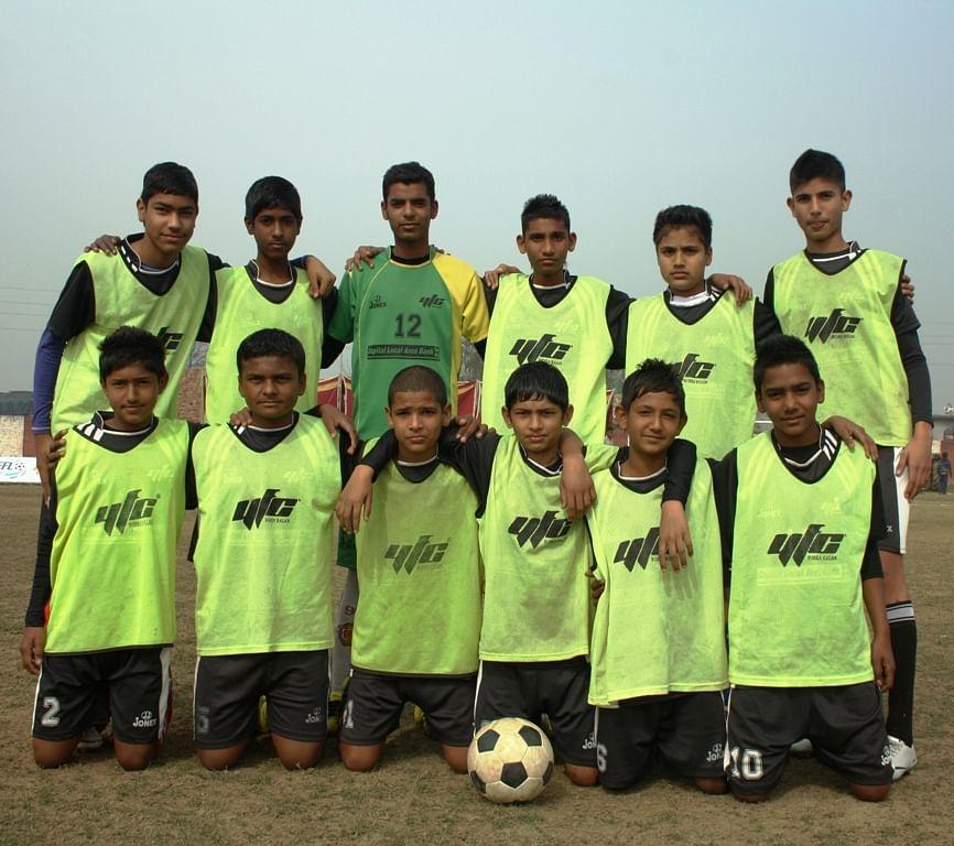 The YFC Under 14 Football Team