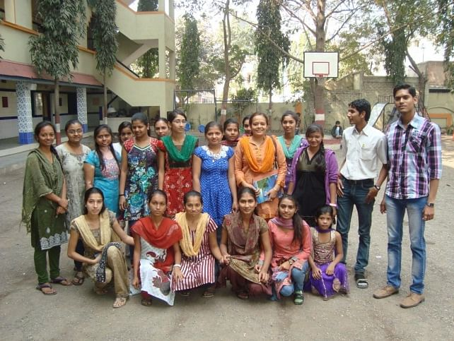 Beena Rao with her Prayas team.
