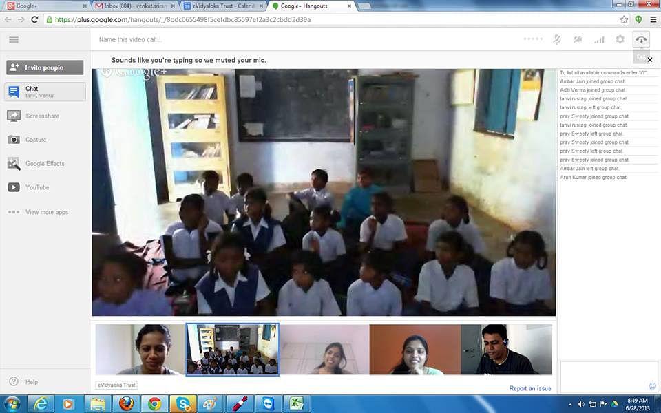 teachers at evidyaloka