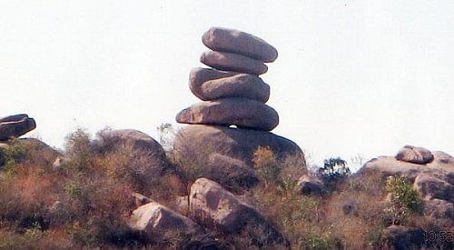 rocks in Hyderabad