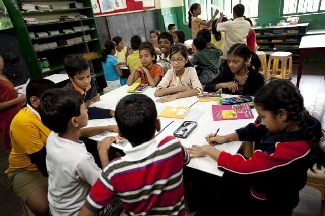 One of Muktangan's 7 schools in Mumbai