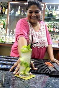 women bartenders in India