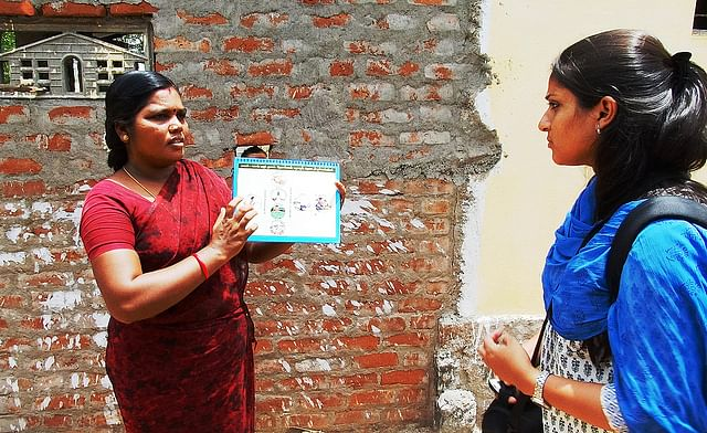 a water and sanitation promoter