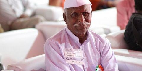 82 year old Annasaheb Bhavu Udgavi