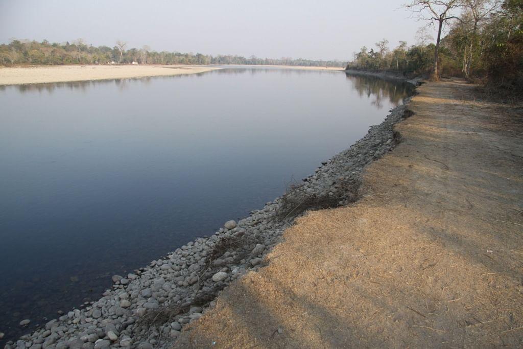 Bhoroli river at Nameri.