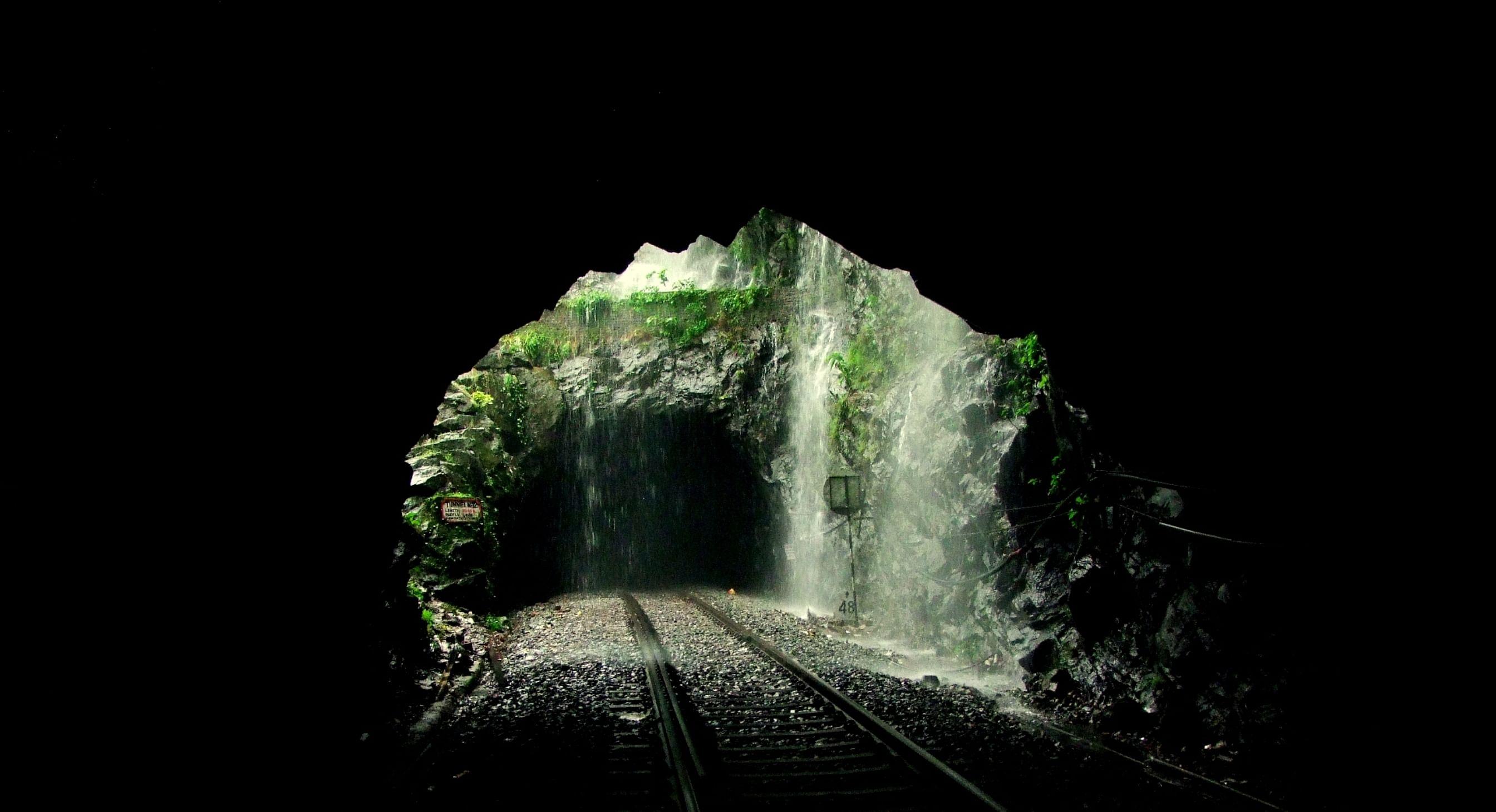 tunnel in western ghats