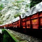 The wail of a train engine