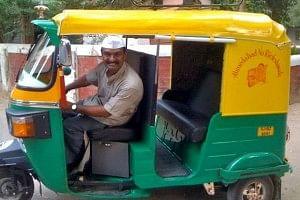 Udaybhai, ahmedabad, richshaw driver