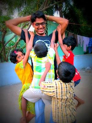 sevai karangal, hiv+ children