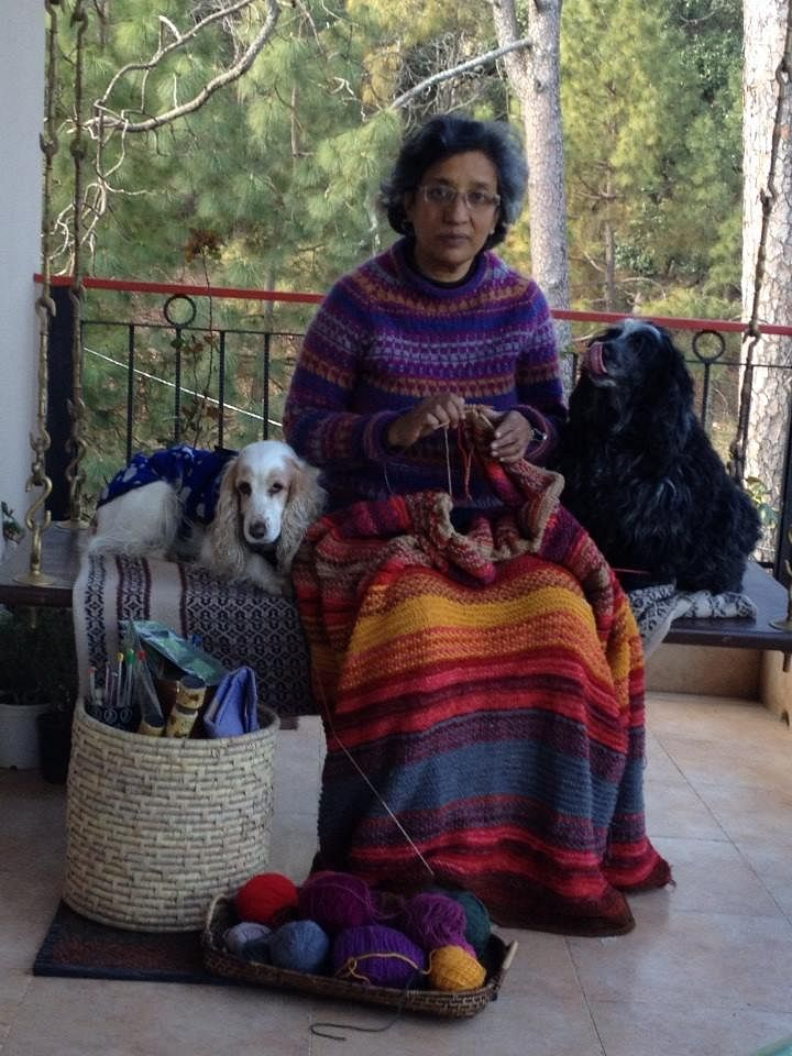mala and her dogs