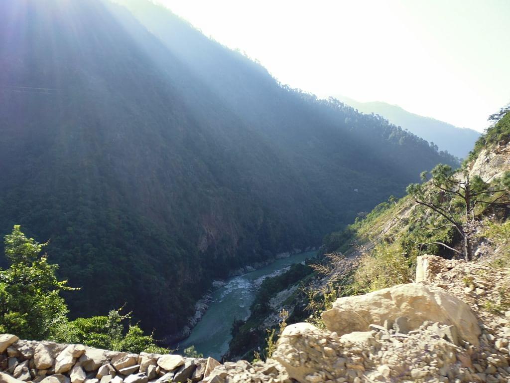 netala, view of valley