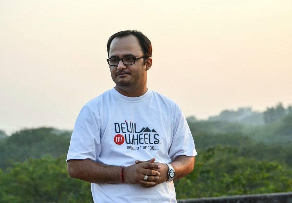 Dheeraj Sharma, founder of Devils on Wheels.