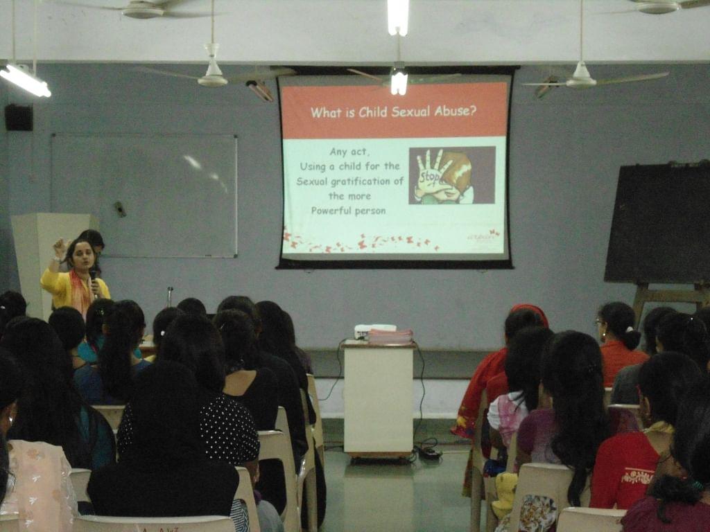 Arpan organizes regular awareness sessions at various places.