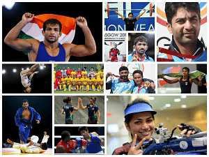 Indian medal winners of CWG 2014