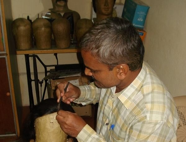 This Wig Maker Of Bangalore Is Using His Skills To Help Cancer Patients Deal With Hair Loss