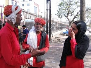 manju - first female porter in Rajasthan
