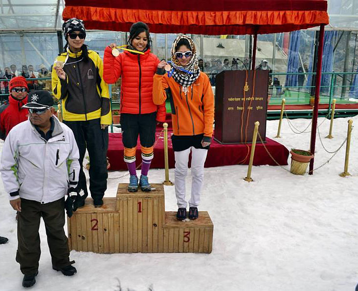 Kashmir girls alpine skiing