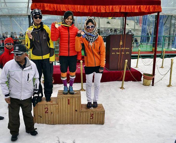 Kashmir girls alpine skiing