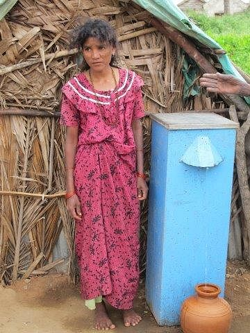The bio sand filters has reached out to over 1,50,000 villagers so far.