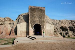 Main gate of Hansi fort.