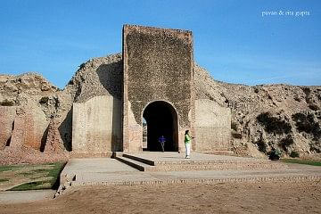 Main gate of Hansi fort.