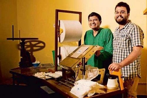 Jaydeep Mandal (left) and Sombodhi Ghosh
