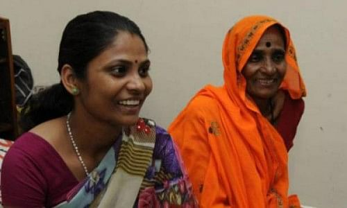 Bhanwari Devi (Right)