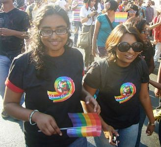 Robin Chaurasiya (left)