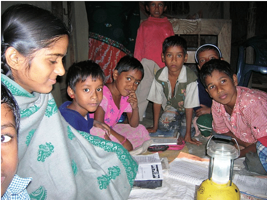 MUKTI brightening lives and bringing smiles among the rural folks in the Sunderban.