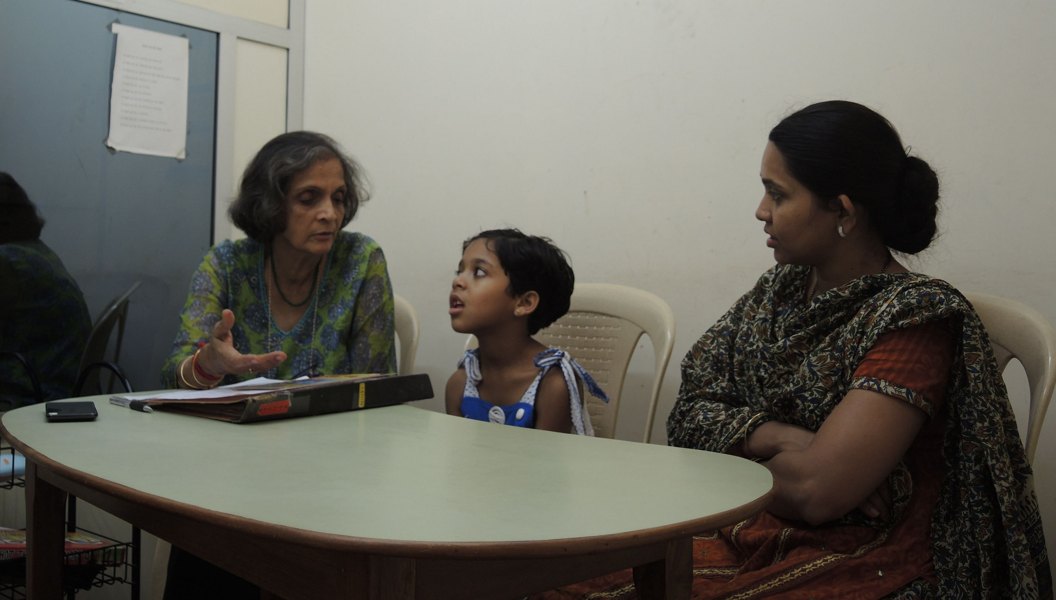A few months of sessions and the kid manages to respond in spoken language. Isn't it amazing?