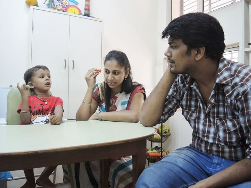 A Hearing Impaired Child Started Listening And Speaking. Meet The Team Who Made It Possible.