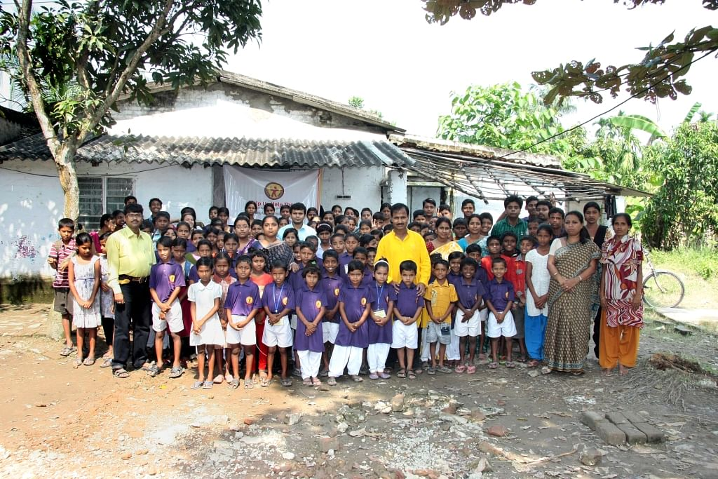 Mukti's mission is to make these lesser privileged children as good as the mainstream ones.