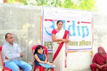Disability didn't come in Poonam's way as she went ahead and brought positive change in lives of other people.